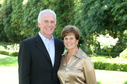 Oracle Chairman Jeff Henley and His Wife Judy