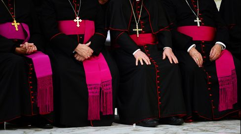 Bishops and Cardinals at the Vatican