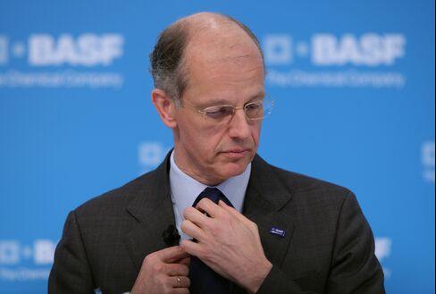 BASF SE Chief Executive Officer Kurt Bock