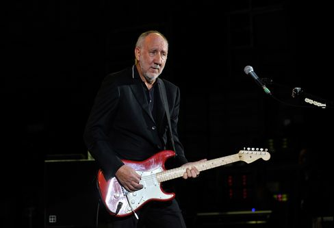 The Who's Guitarist Peter Townshend