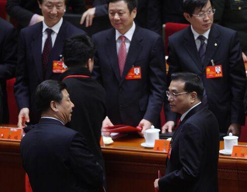 Xi Jinping and Li Keqiang