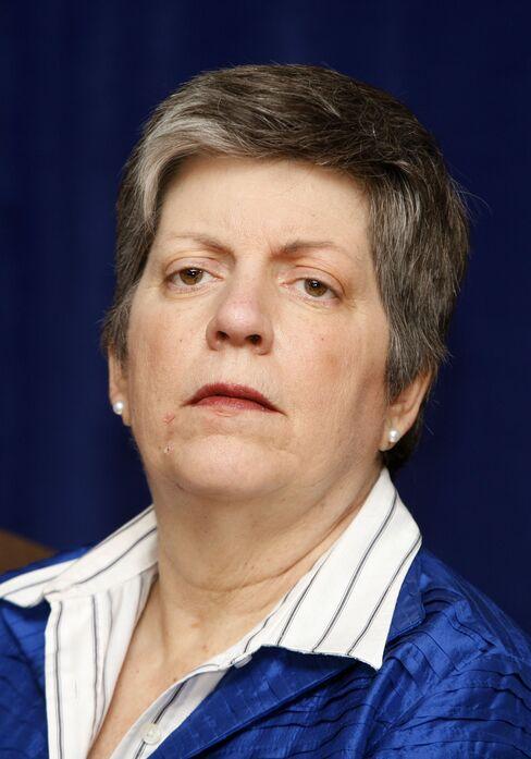 U.S. Homeland Security Secretary Janet Napolitano