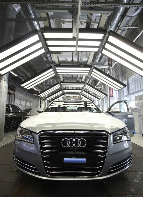 Audi Headlights Seeing Around Corners Banned by 1968 U.S. Rules