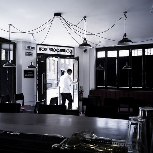 69 Colebrooke Row is a corner bar in Islington, north London. The owner, Tony Conigliaro, creates his cocktails in a nearby laboratory. Source: Bacchus via Bloomberg