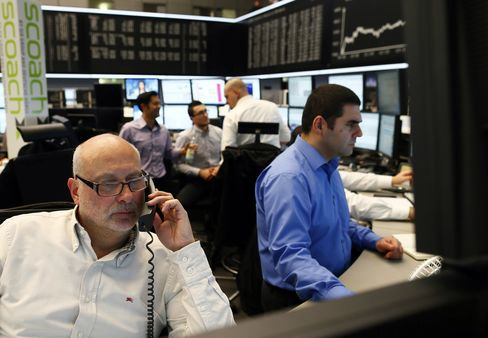 European Stocks Climb as Policy Makers Weigh Options for Cyprus