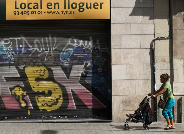 Are things looking up in Spain? Photographer: Stefano Buonamici/Bloomberg