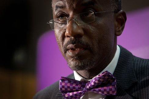 Central Bank of Nigeria Governor Lamido Sanusi