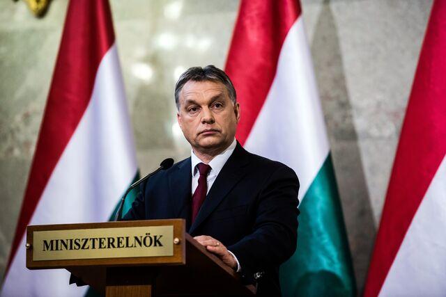 Viktor the victor. Photographer: Akos Stiller/Bloomberg