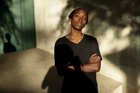 Veteran Nira Williams became addicted to painkillers and other drugs while serving the U.S. Army in Iraq. Photographer: Joshua Lott/Bloomberg