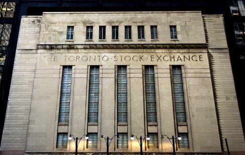 Toronto Stocks Seen Trailing U.S. for 3rd Year