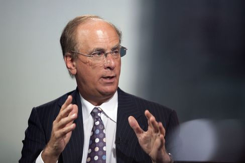 BlackRock's Fink Says Buyback Shows Stocks Are Cheap