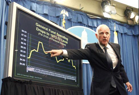 Brown Proposes Overhaul of California Pension Programs