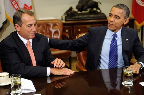 President Barack Obama and House Speaker John Boehner
