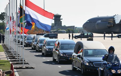 Repatriation of bodies to the Netherlands