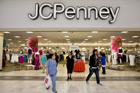 Shoppers Pass A J.C. Penney Store