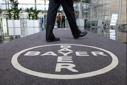 Bayer Forecasts 2013 Sales Growth on New Drugs, Crops