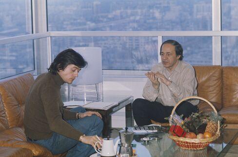 Patrice Chereau and Pierre Boulez