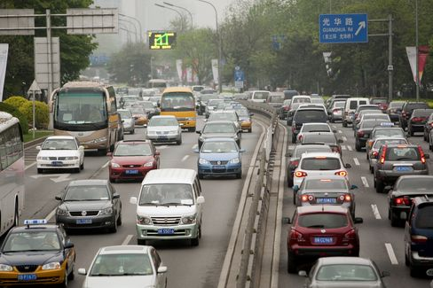 Beijing Plans to Levy Congestion Charges to Ease Traffic Jams
