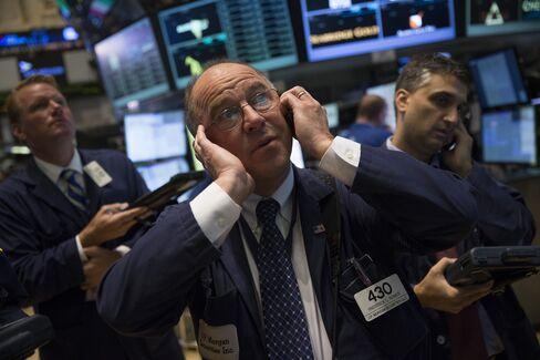 U.S. Stocks Advance With Commodities While Treasuries Retreat