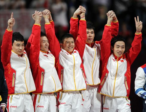 China Wins Olympic Men's Team Gymnastics for 15th Medal