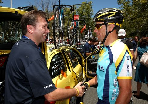 Cycling Manager Bruyneel Agrees to USADA Arbitration Hearing