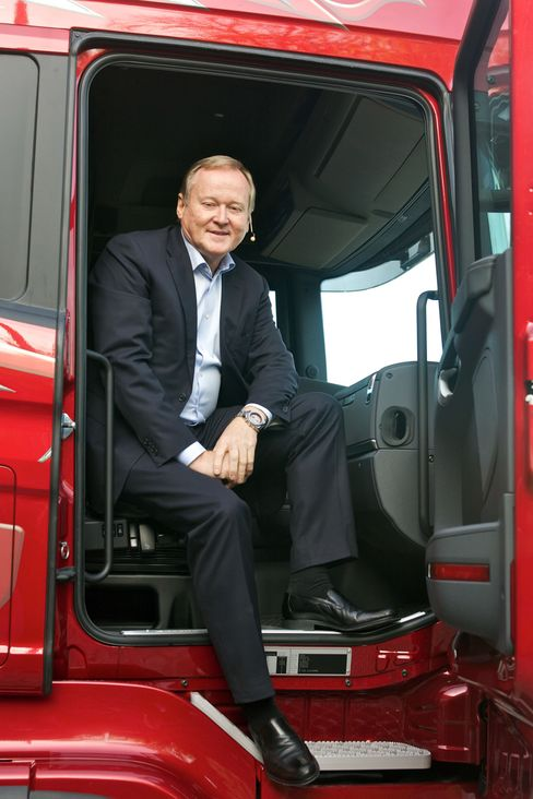 Scania CEO Leif Oestling