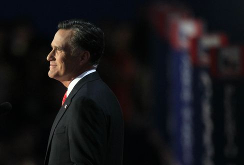 Mitt Romney Accepts Republican Presidential Nomination