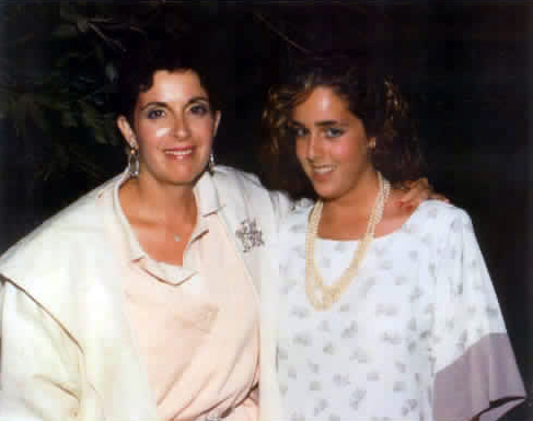 Ingrid and Michelle Robinson
