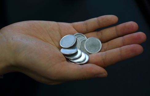 Aluminum coins to be minted into 1 Japanese yen coins