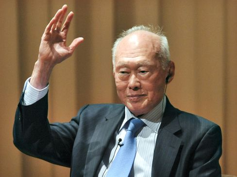 Singapore's First Prime Minister Lee Kuan Yew