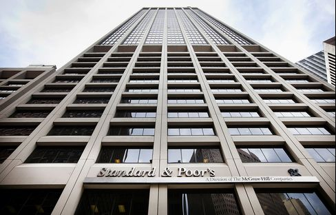 Standard & Poor's Financial Services LLC building in New York. Photographer: Michael Nagle/Bloomberg