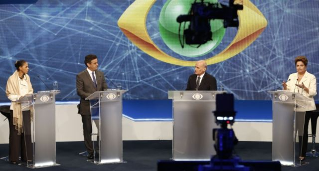 Brazil's presidential candidates, distinct and the same.