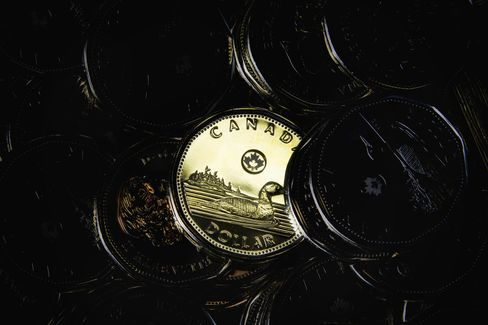 Canadian One Dollar Coins