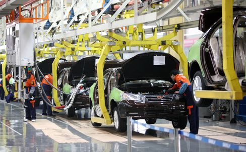 China May Manufacturing PMI at 50.8; Economists' Est. 50.0