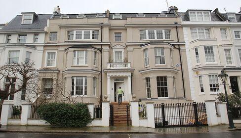 Kensington House Prices Rise to $3.5 Million in London 'Bubble'