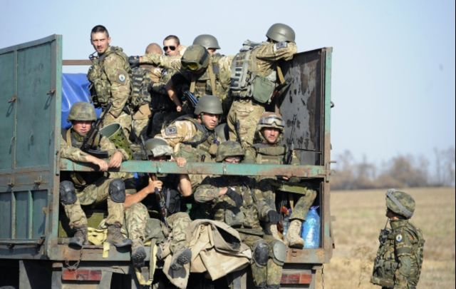 NATO isn't coming to the rescue of Ukraine's troops.
