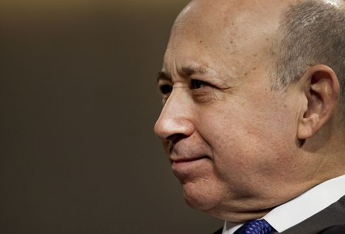 Goldman Sachs Group CEO Lloyd C. Blankfein