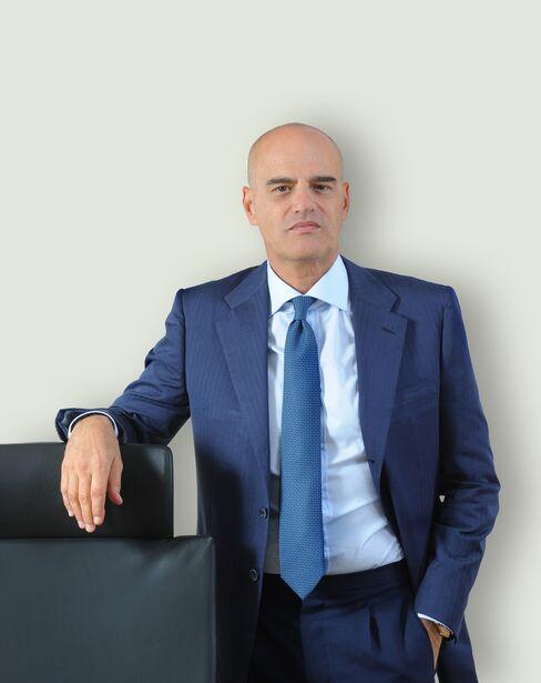 Eni SpA CEO Claudio Descalzi