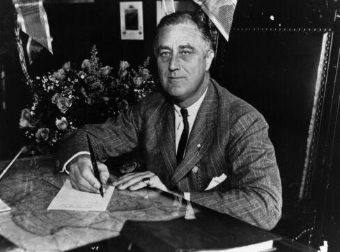 U.S. President Franklin Roosevelt