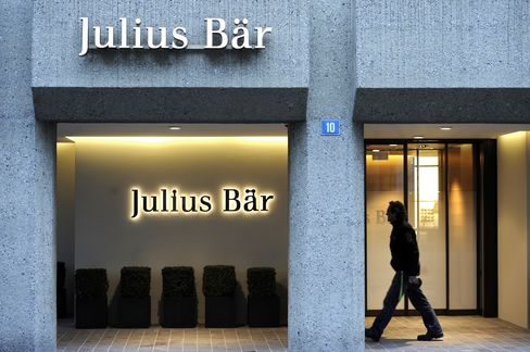 Julius Baer Bankers Said to Be Charged in Tax Probe by U.S.