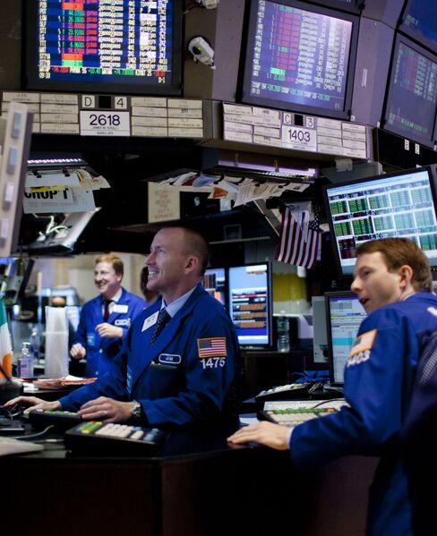 U.S. Stocks Rise as JPMorgan Rallies Amid Speculation on China