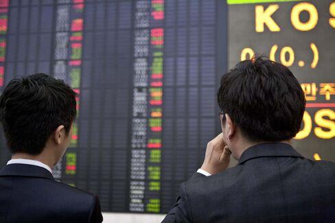 Investors in Seoul