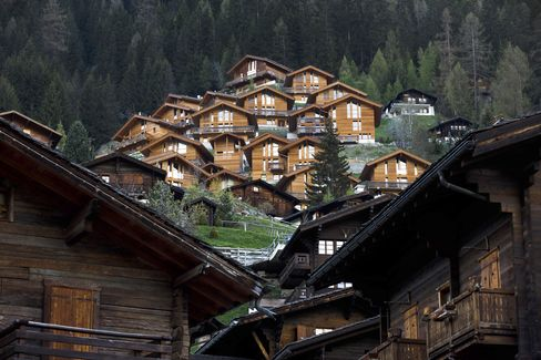 Swiss Cold Bed Resorts Heat Up as Building Ban Boosts Prices