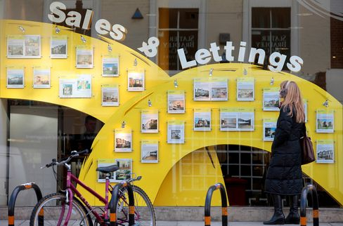 U.K. House Prices Increase by 1.2% in June