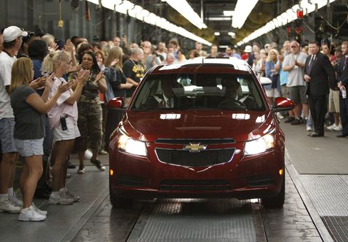 Auto Bailout Makes Contest Between Ohio Lawmakers Microcosm