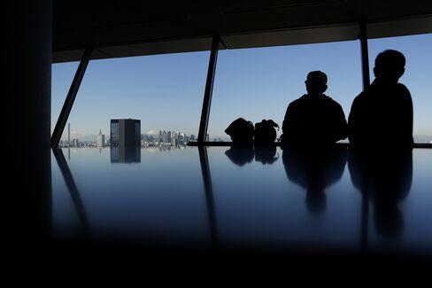 Observation Deck in Tokyo