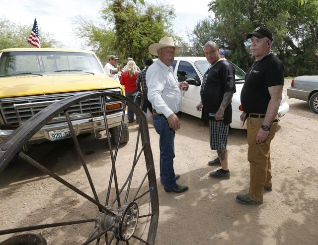 Cliven Bundy, scofflaw. Photographer: George Frey/Getty Images