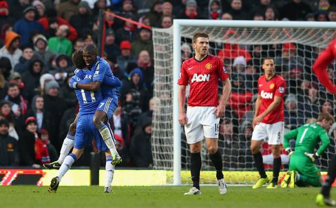 Chelsea Rallies to Force F.A. Cup Replay Against Manchester Utd.