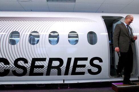 Bombardier Senior VP Chet Fuller