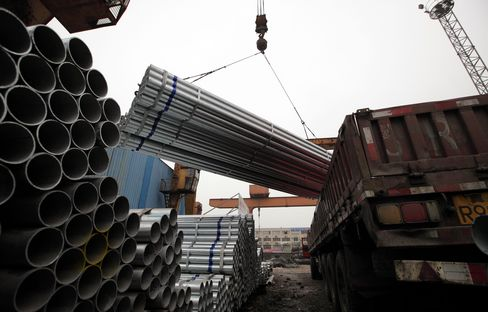 China Steel Demand Rebounding as Nation Adds Railways, Cars
